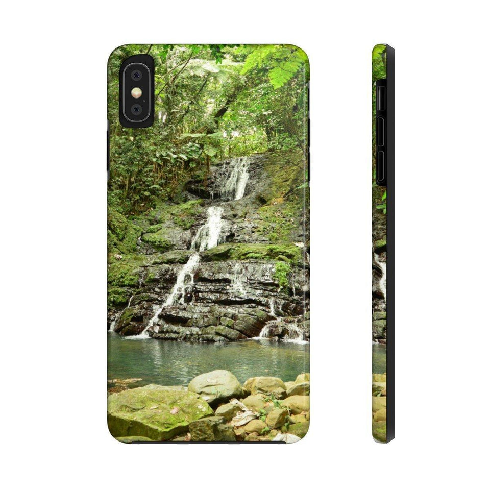 Case Mate Tough Phone Cases - Hidden El Yunque waterfall - La Coca trail - El Yunque rain forest PR Phone Case Printify