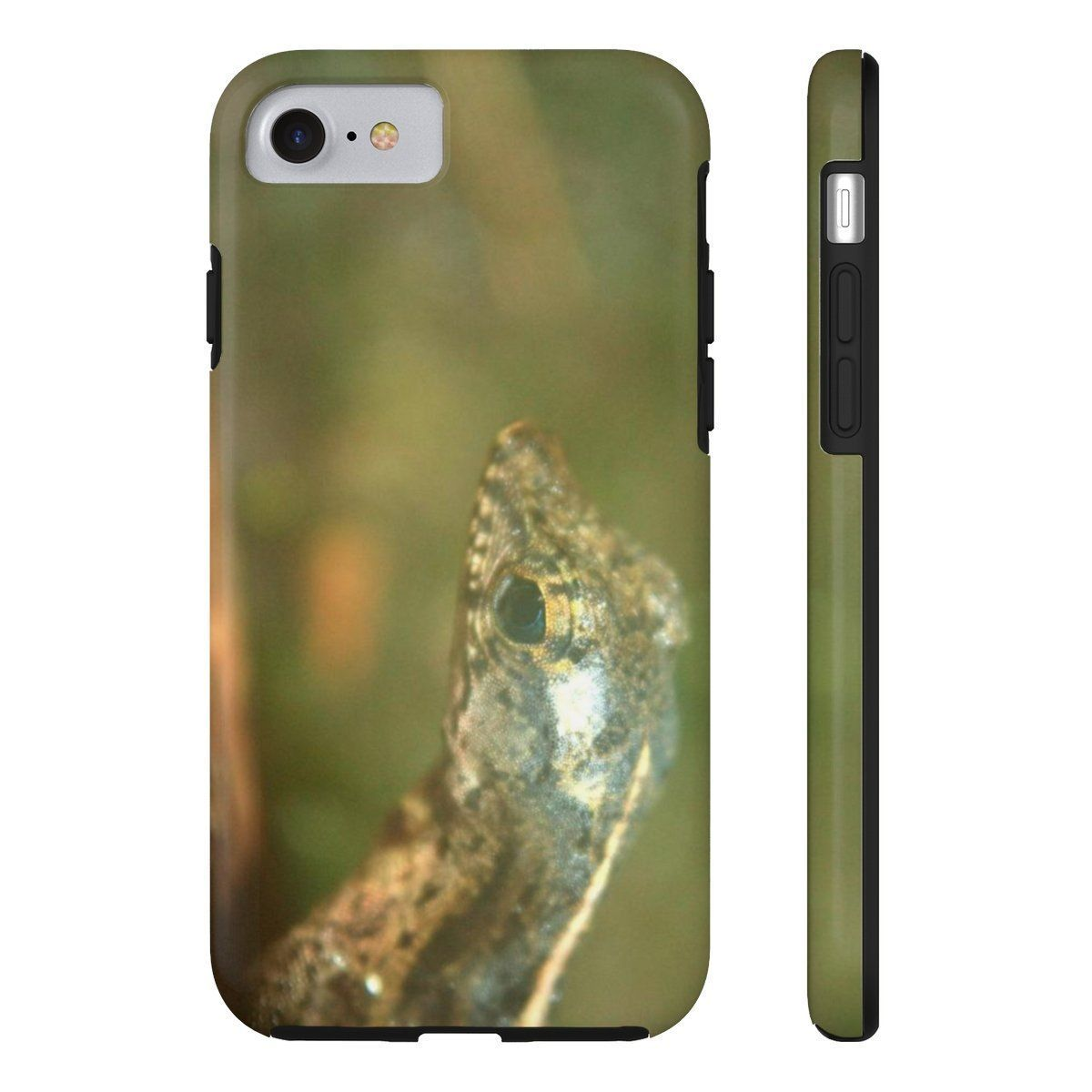 Case Mate Tough Phone Cases - Lizard in el Yunque Phone Case Printify