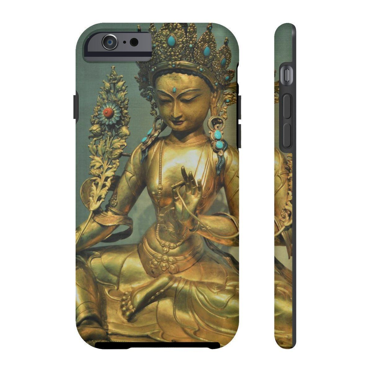Case Mate Tough Phone Cases - The Goddes Tara of Infinite and deep Compassion and Wisdom Phone Case Printify