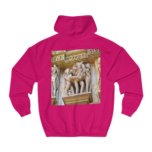 💘 Hot@Hoddie - Unisex College Hoodie -  BY OPT OnDemand - Fulfilled in Czech Republic
