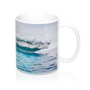 Ceramic Mug 11oz - Ice Poles melting due to Global warming - made in USA - Yunque Store