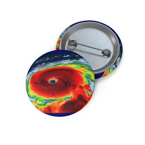 Cheap Pin Buttons - Made in USA in 2 days - Hurricane Dorian approaches the East Coast Accessories Printify