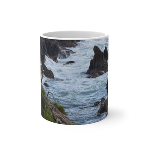 Color Changing Mug - Rocky Coast - Palmas de Mar Housing complex - Puerto Rico - Yunque Store