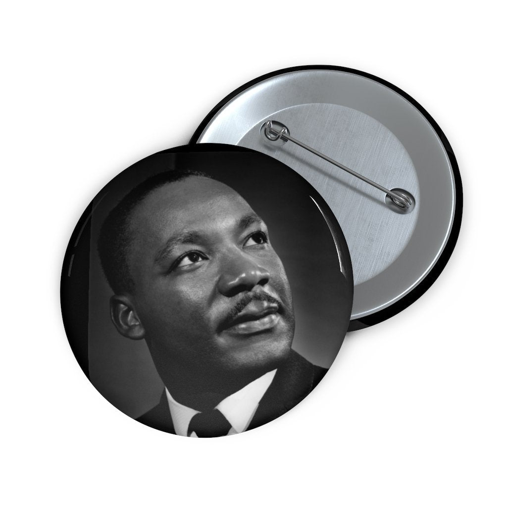 Custom Pin Buttons - DR. MARTIN LUTHER KING JR. - NOBEL PEACE PRIZE 1964 - Yunque Store