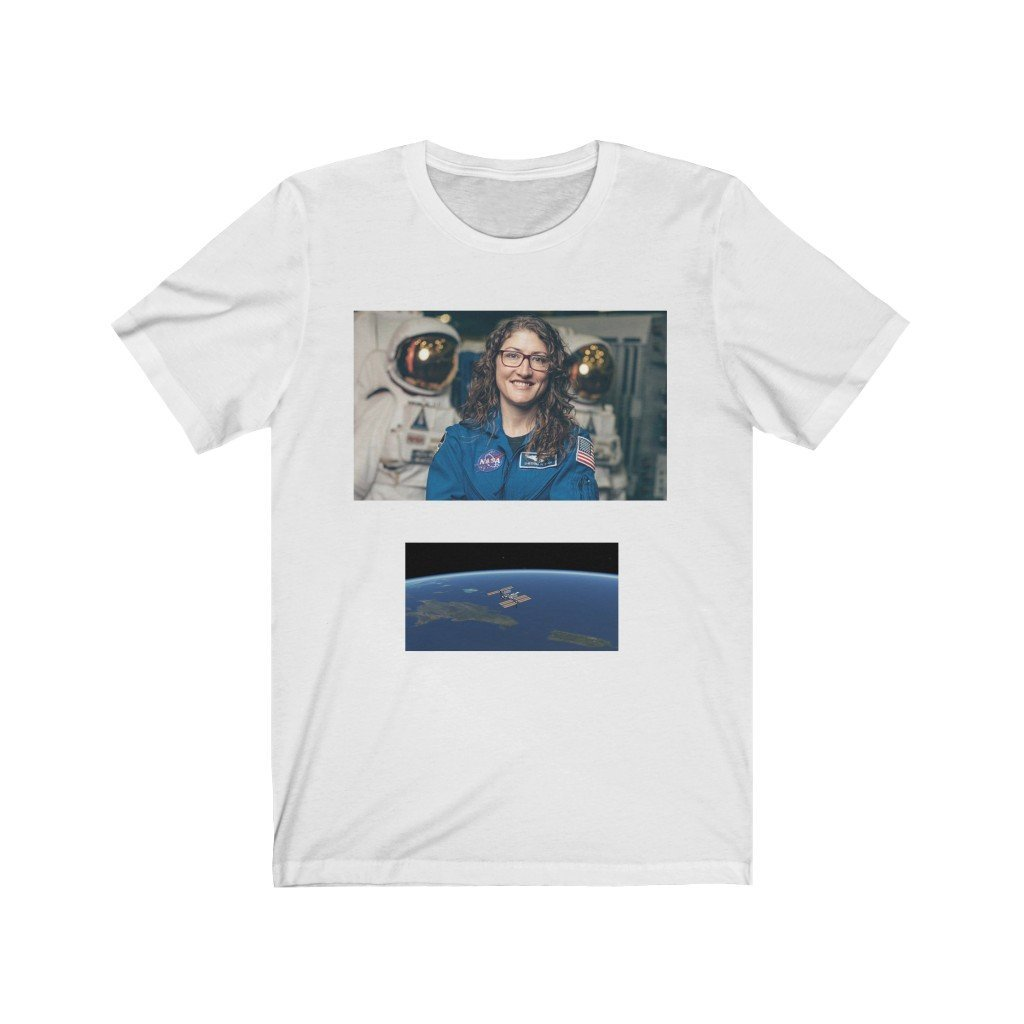 Deal $19 👍 -- Bella+Canvas 3001 - Astronaut Christina Koch lands back on Earth after a record-breaking 328 days in space - Yunque Store