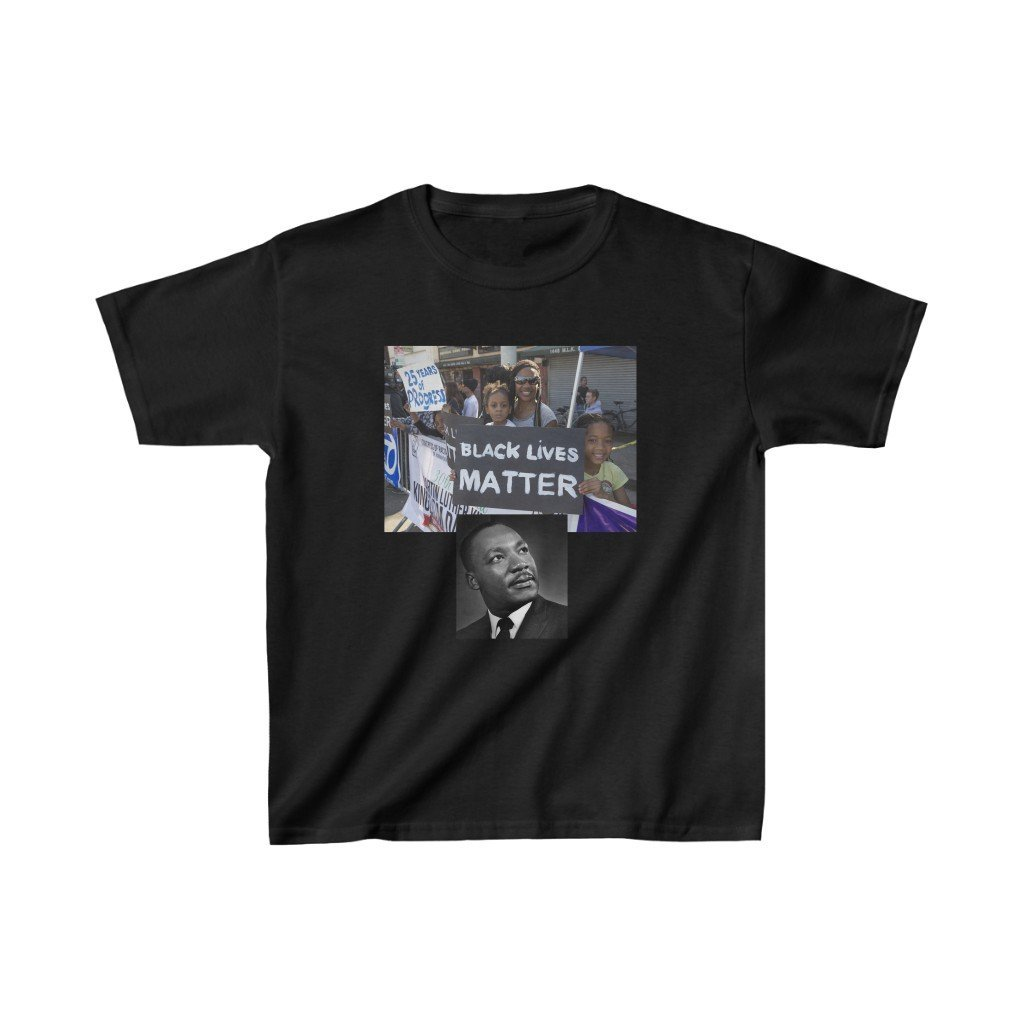 😎 Deal $19 - Gildan 5000B - 👉 Kids Heavy Cotton™ - inspiring Martin Luther King Jr. - Celebrate the 1963 I have a Dream Speech in WA DC - Black Lives Matter and Malcom X - Yunque Store