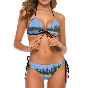 Deal $19 - Triangle Bikini - The awesome Luquillo Beach in Puerto Rico - Near El Yunque - Yunque Store