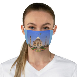 DEAL $6 - Yunque.Store RADIANT BEAUTY 🌈 Reusable Cloth Face Masks - Be Safe - Awesome Taj Mahal India 👌 - Yunque Store