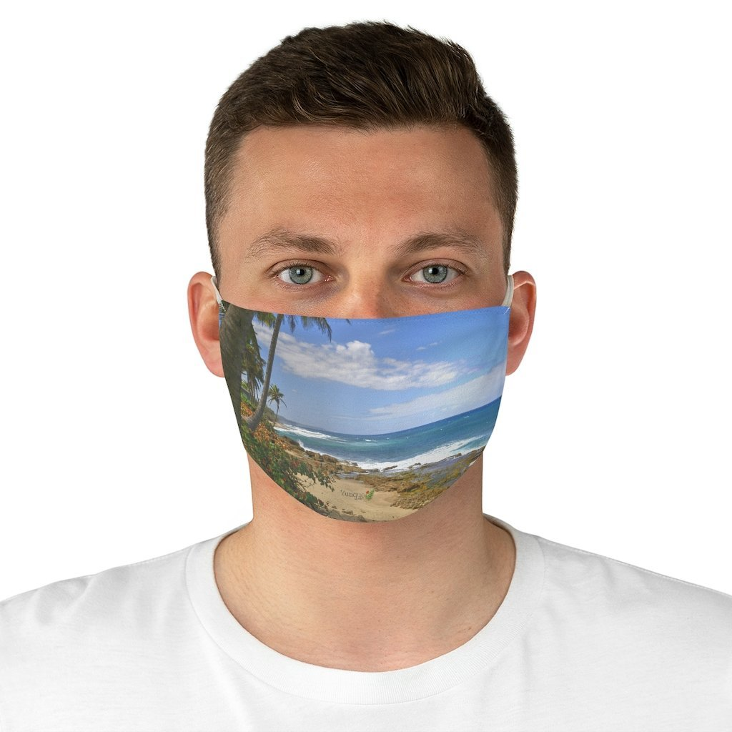 DEAL $6 - Yunque.Store RADIANT BEAUTY 🌈 Reusable Cloth Face Masks - Be Safe 👩‍⚕️👨‍⚕️ - Awesome tropical beach Near Arecibo🌴🌞🌴 Puerto Rico - Yunque Store