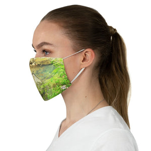 DEAL $6 - Yunque.Store RADIANT BEAUTY 🌈 Reusable Cloth Face Masks - Be Safe - Awesome tropical 🐱‍🐉 El Yunque Rainforest La Mina river - Puerto Rico 🐸 - Yunque Store