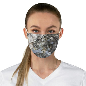 DEAL $6 - Yunque.Store RADIANT BEAUTY 🌈 Reusable Cloth Face Masks - Be Safe - Awesome tropical 🐱‍🐉 El Yunque Rainforest River boulder - Puerto Rico 🐸 - Yunque Store
