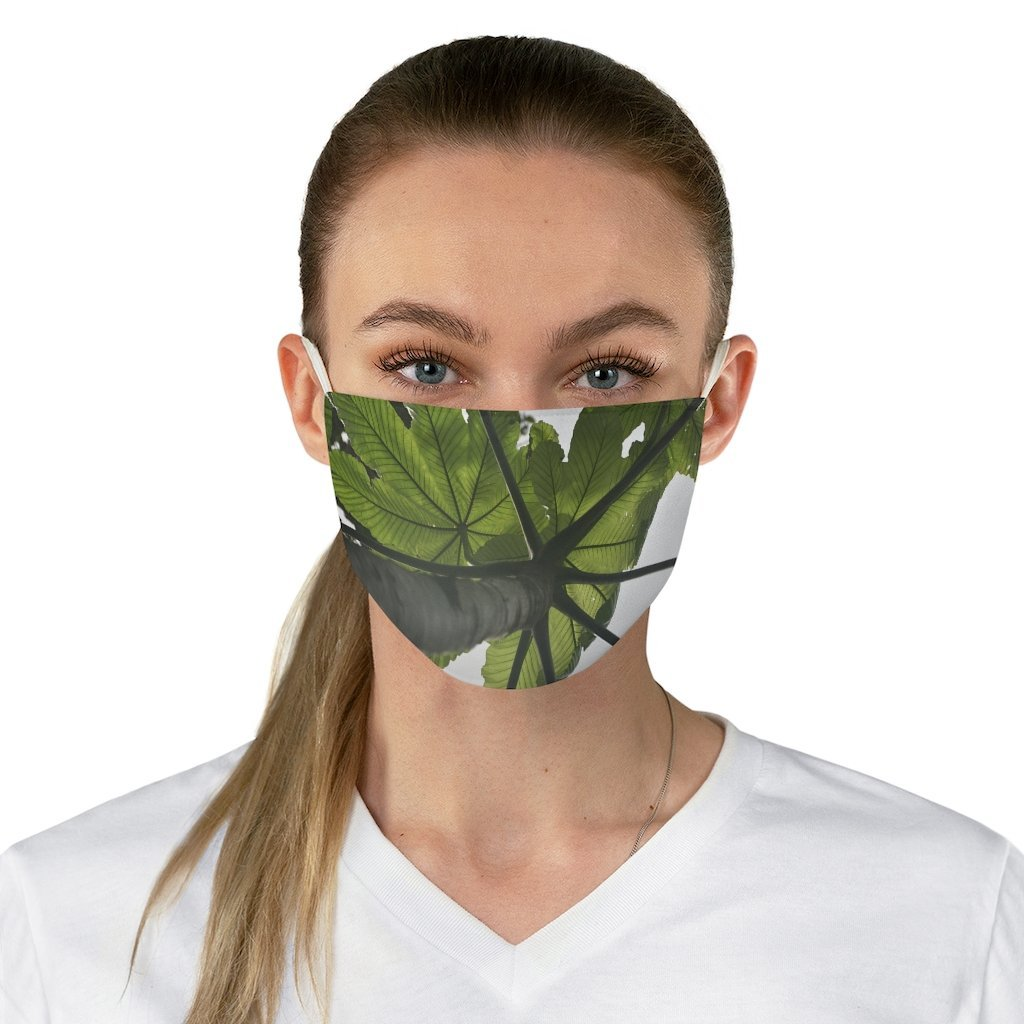 DEAL $6 - Yunque.Store RADIANT BEAUTY 🌈 Reusable Cloth Face Masks - Be Safe - Awesome tropical 🐱‍🐉 El Yunque Rainforest trail - Puerto Rico 🐸 - Yunque Store