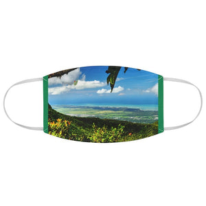 DEAL $6 - Yunque.Store RADIANT BEAUTY 🌈 Reusable Cloth Face Masks - Be Safe - Awesome tropical 🐱‍🐉 El Yunque Rainforest view - Puerto Rico 🐸 - Yunque Store
