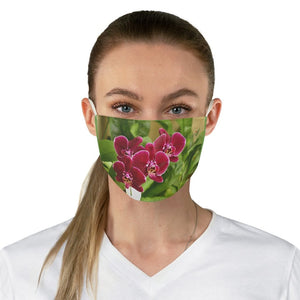 DEAL $6 - Yunque.Store RADIANT BEAUTY 🌈 Reusable Cloth Face Masks - Be Safe - Awesome tropical 🌷 Orchids - Isabela - Puerto Rico - Yunque Store