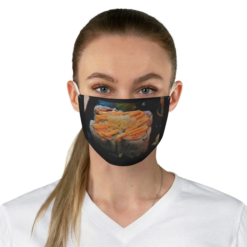 DEAL $6 - Yunque.Store RADIANT BEAUTY 🌈 Reusable Cloth Face Masks - Be Safe - I Love 💘 SUSHI - Tokyo Humacao Puerto Rico - Yunque Store