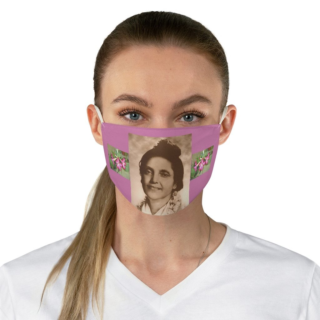 DEAL $6 - Yunque.Store RADIANT BEAUTY 🌈 Reusable Cloth Face Masks - Be Safe - Indian Saint 💘 Ananda Mayi Ma - India 🙏 - Yunque Store