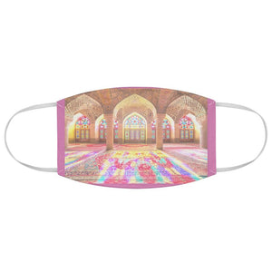 DEAL $6 - Yunque.Store RADIANT BEAUTY 🌈 Reusable Cloth Face Masks - Be Safe - 🙏 Muslim Mosque - Yunque Store