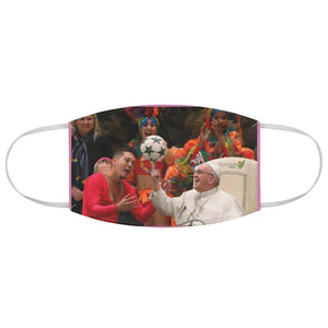 DEAL $6 - Yunque.Store RADIANT BEAUTY 🌈 Reusable Cloth Face Masks - Be Safe - Pope Francis shows Soccer Skills 🙏 - Yunque Store