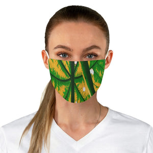 DEAL $6 - Yunque.Store RADIANT BEAUTY 🌈 Reusable Cloth Face Masks - Be Safe - Yagrumo Tree leaf - El Yunque rainforest - Alien Vision 👽 - Yunque Store