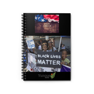 DEAL $9.99 - Spiral Notebook - Ruled Line - In Homage of Dr. Martin Luther King Jr. - Nobel Peace prize - 1964 - Yunque Store