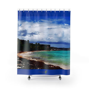 DEAL - Shower Curtains - UNIQUE & PRISTINE - New Mona Island Images - remote 7x7 km island 50 miles from Puerto Rico - Yunque Store