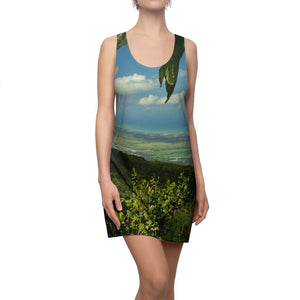 Deals - Women's Cut & Sew Racerback Dress - View at 3k feet alt. from Tres Picachos of the coast - El Yunque rain forest PR - Yunque Store