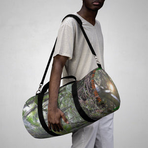 Duffle Bag - Cloud forest and sunset in Tradewinds trail - El Yunque rain forest PR Bags Printify
