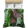 Duvet Covers - Variery of ferns in Rio Sabana park - El Yunque rain forest PR AwsomeRainForest@Home