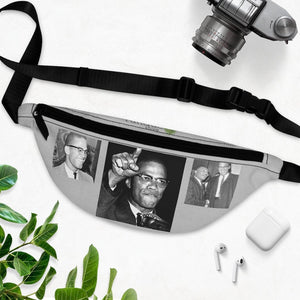 Fanny Pack with Organizer and Lightweight - Celebrating Americas great revolutionaries - Malcolm X and MLK - Yunque Store