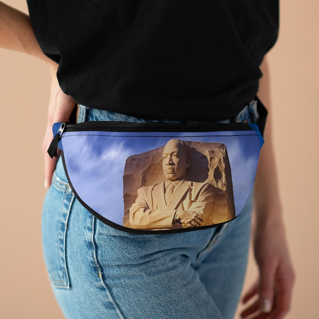 Fanny Pack with Organizer and Lightweight - Dr. Martin Luther King Jr. Monument - Nobel peace prize in WA DC march - Yunque Store