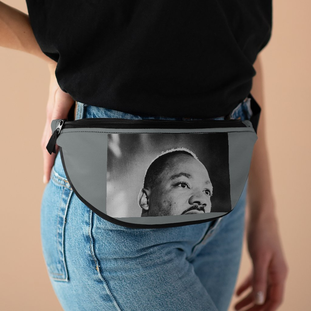 Fanny Pack with Organizer and Lightweight - Dr. Martin Luther King - Nobel peace prize in WA DC march - Yunque Store