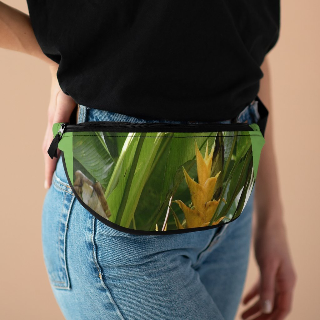 Fanny Pack with Organizer and Lightweight - Tropical flowers - El Yunque rain forest Puerto Rico - Yunque Store