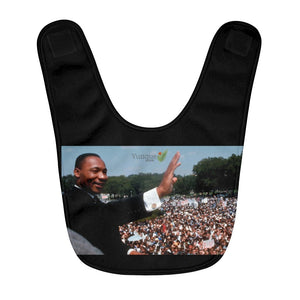 Fleece Baby Bib - inspiring Martin Luther King Jr. - celebrate the 1963 I have a Dream Speech in WA DC - Yunque Store