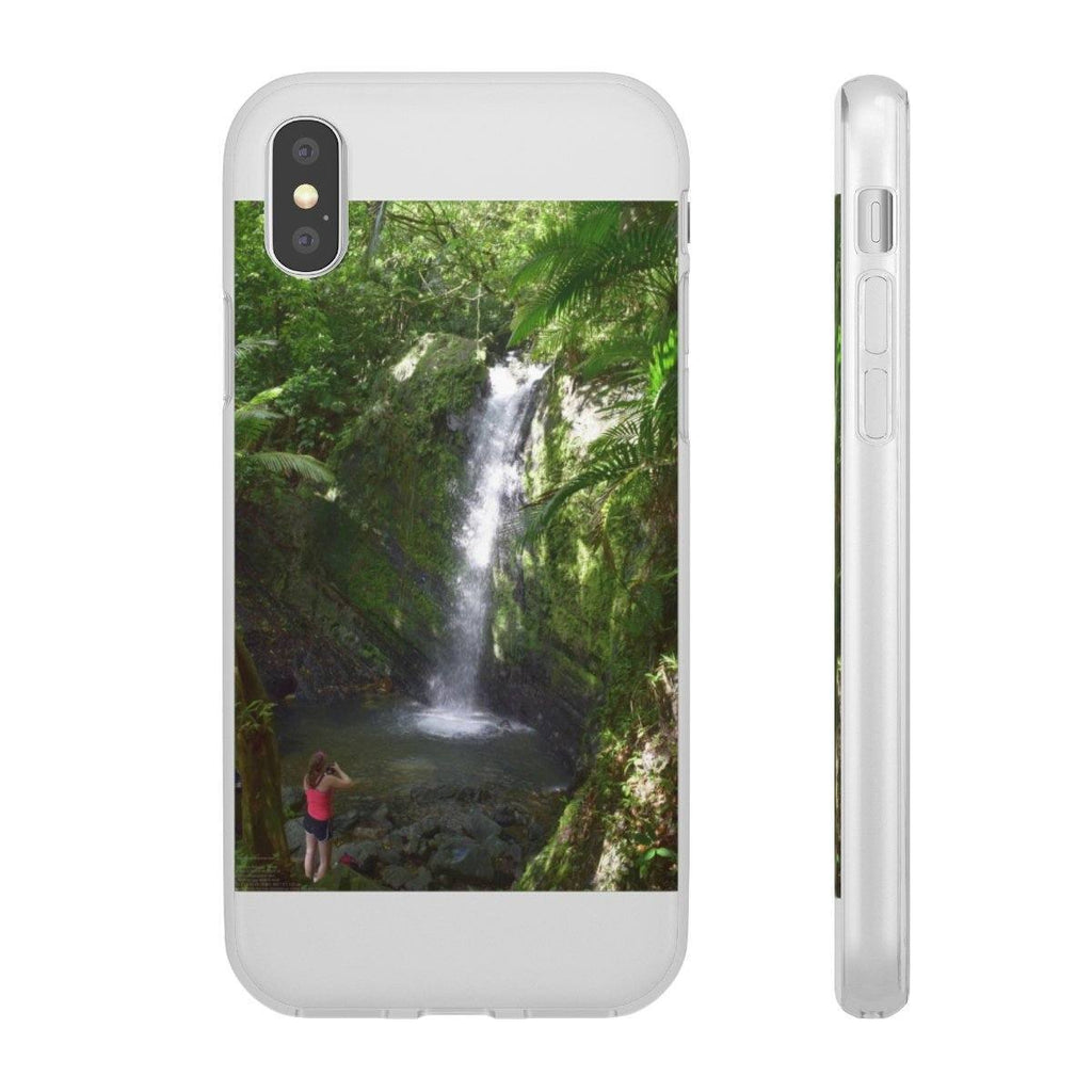 Flexi Cases - El Yunque rainforest PR - Juan Diego river falls Phone Case Printify