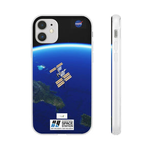 Flexi Cases - iPhone 11, Pro and Max: NASA ISS Celebrate the first-ever spacewalk by an all-woman team - ISS@iPhone Phone Case Printify