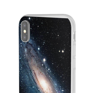 Flexi Cases - The Andromeda galaxy - closest to the Earth at 2.5 million light-years - NASA image Phone Case Printify