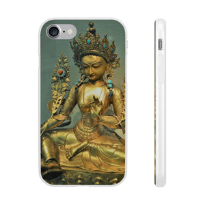Flexi Cases - The Goddes Tara of Infinite and deep Compassion and Wisdom Phone Case Printify