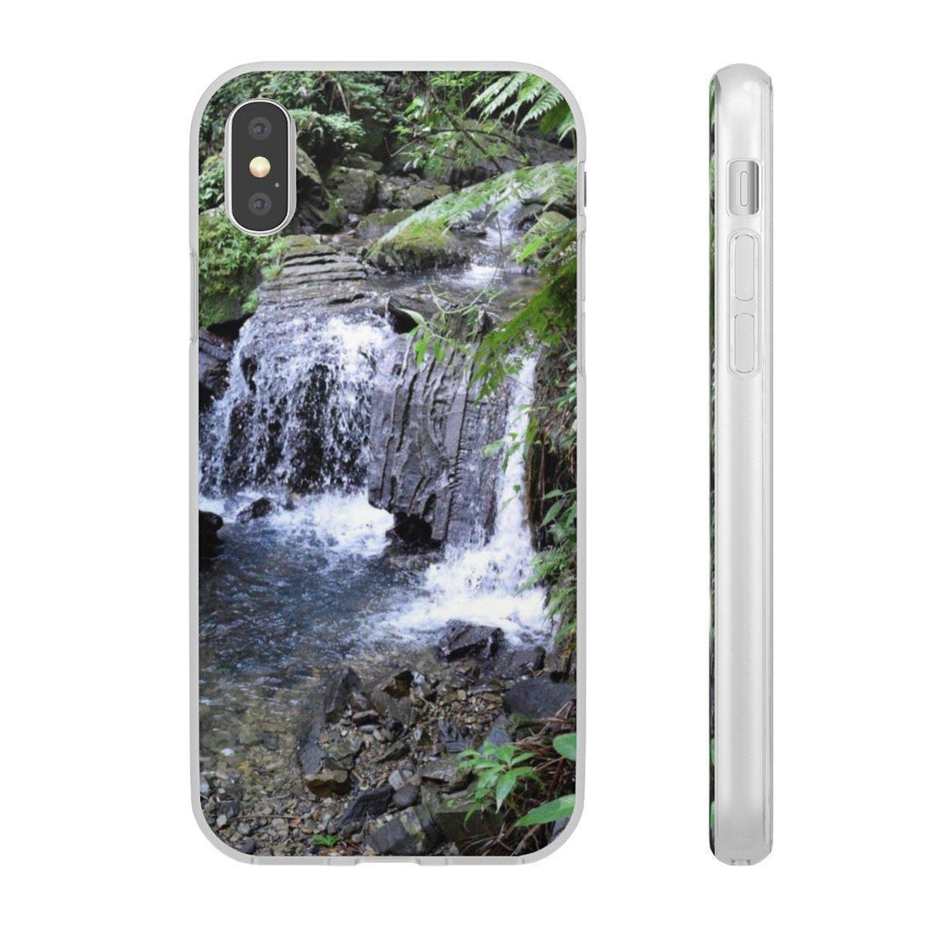Flexi Cases - waterfall in El Yunque Phone Case Printify