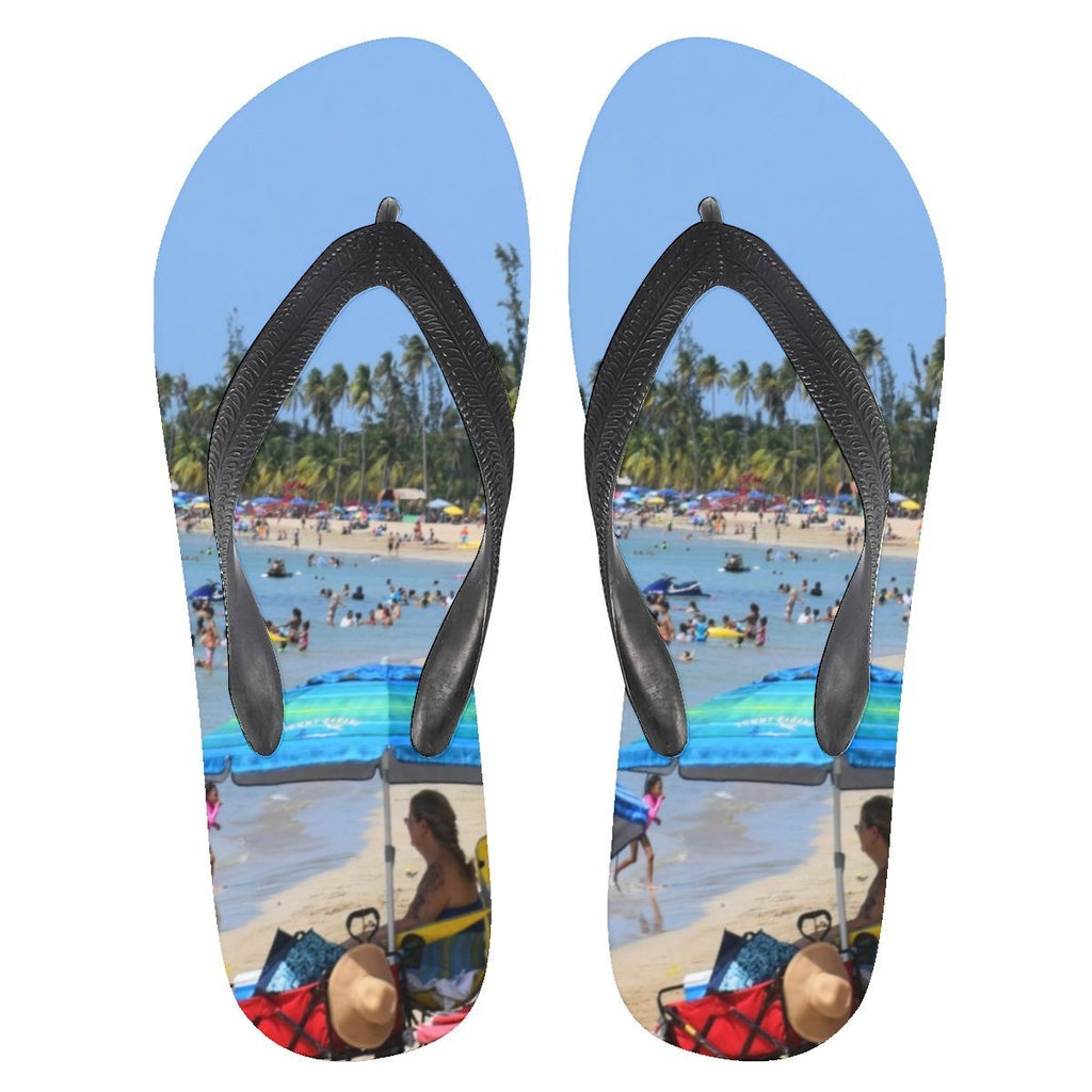 Flip Flops - Famous Luquillo Beach in Puerto Rico 👍👍 - Yunque Store