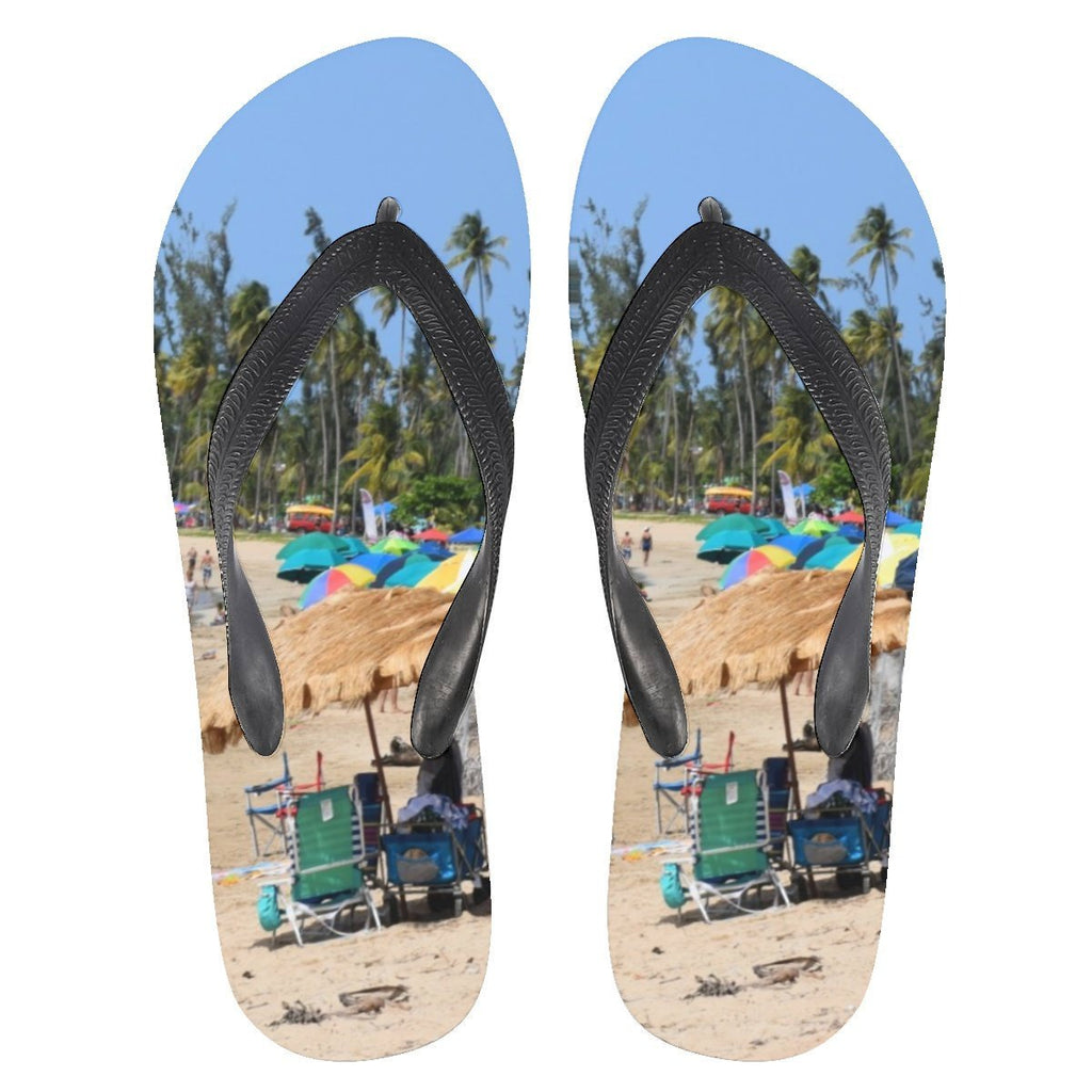 Flip Flops - Famous Luquillo Beach in Puerto Rico 😲🌴😲 - Yunque Store