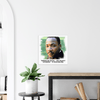 "GELATO GLOBAL PRINT - Classic Matte Paper square POSTER - Dr. Martin Luther King - ""Intelligence plus character — that is the goal of true education."" - Yunque Store"