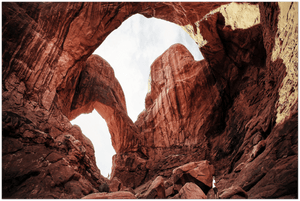 GELATO GLOBAL PRINT - Landscape Aluminum Print - Arches National Park - the Double Arch in Utah, USA - Yunque Store