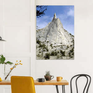 GELATO GLOBAL PRINT - Landscape Aluminum Print - Cathedral Peak - Yosemite National Park in CA USA - Yunque Store