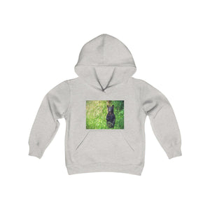 Gildan 18500B - Youth Heavy Blend Hooded Sweatshirt - Celebrating the Great Smoky Mountain National Park Kids clothes Printify