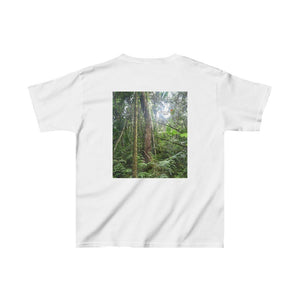 GILDAN 5000B - Kids Heavy Cotton™ Tee - Bring home the most remote, rarely seen, regions of the rainforest in Puerto Rico - El Toro Wilderness - Yunque Store