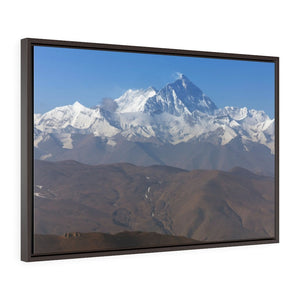 GREAT CHINA COLLECTION: Horizontal Framed Premium Gallery Wrap Canvas - The North face of Mount Everest, Tibet, China - Yunque Store