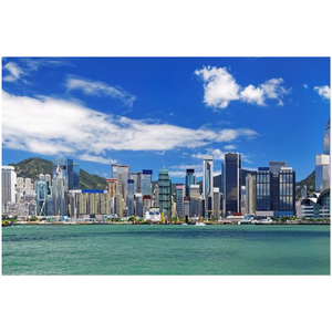 GREAT CHINA COLLECTION: Protective Acrylic Prints - The awesome Hong Kong harbour - Yunque Store