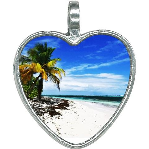 Heart Necklace - MONA ISLAND PR - PAJAROS BEACH ???? WHERE YOU FALL IN LOVE ?? - Yunque Store