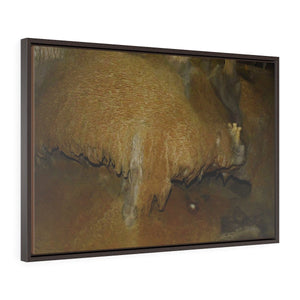 Horizontal Framed Premium Gallery Wrap Canvas - Unique Mona Island Caves Exploration in 2019 -- Galapagos of the Caribbean - Puerto Canvas Printify