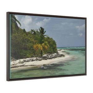 Horizontal Framed Premium Gallery Wrap Canvas - Unique Mona Island Exploration in 2019 -- Galapagos of the Caribbean - Puerto Rico: Canvas Printify